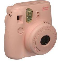 Fuji Instax Mini 8, Instant Film Camera, 62 X 46 mm Image Size, Pink
