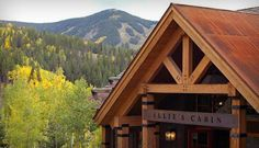 Beaver Creek Reception & Wedding Venues - Allie's Cabin | Iconic Weddings