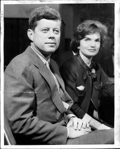 1960. Mars. Maybe by Tony SPINA. Senator and Mrs. Kennedy. The JFK's in Detroit attending the Democratic Midwest Conference held at the Detroit's Sheraton Book-Cadillac Hotel (26-28th March 1960)