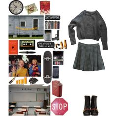 It's a hell of a feeling though by always-soulful on Polyvore featuring American Apparel, Retrò, Gucci, WALL, H.R., INDIE HAIR, Edition and 7 For All Mankind
