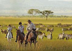 Horseback safaris in the Serengeti, Tanzania Dream vacation!