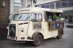 We are Lollapalooza, because who doesn't love crepes and ice-cream? Go on an adventure into Hanley town to find this beautiful vintage van adorned in bunting!