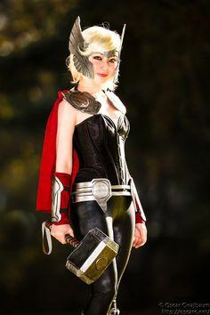 Lady Thor by ocwajbaum.deviantart.com on @deviantART