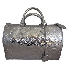 Louis Vuitton Silver Mirror Speedy 30 Bag, Limited Edition    #porteropintowin