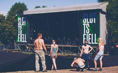 Slottsfjell 2015 Festival design / Breakfast.no