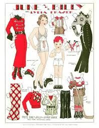 lydia fraser paper doll - Google Search