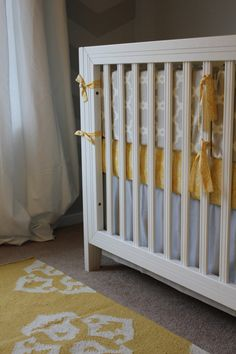Grey yellow white nursery