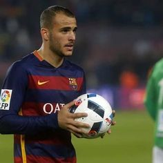 Sandro with the match ball after the game