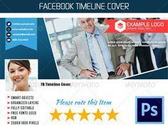 ウェブ要素 - 企业、FBのタイムラインカバー02   GraphicRiver