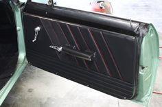 69 Camaro Fesler Door Panels Carbon Fiber Insert Custom