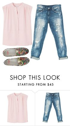 """""""Untitled #11261"""" by beatrizibelo ❤ liked on Polyvore featuring MANGO and Sans Souci"""