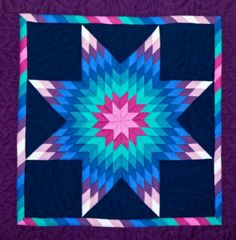 Lone star quilt, like these colours