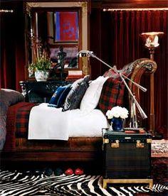 """Ralph Lauren Home Archives, """"Modern Duke"""" Bedroom, circa 2005"""