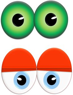 printable monster eyes birthday pinterest monster eyes rh pinterest com spooky eyes clipart free spooky eyes clipart free