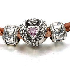 Soufeel Jewelry Pink Lolita Heart Bracelet Jewelry