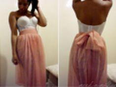 Para que hagan su falda chicas!! Pleated Maxi, Chiffon Skirt, Diy Clothing, Sewing Clothes, Skirt Tutorial, Diy Tutorial, Diy Sewing Projects, Body Con Skirt, Diy Fashion