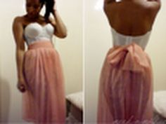 Pleated maxi skirt tutorial