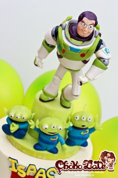Birthday Cakes - Buzz Lightyear (modelling chocolate)
