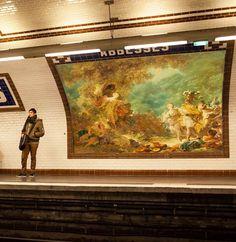 Who stole my ads ? – Remplacer les publicités par de l'art