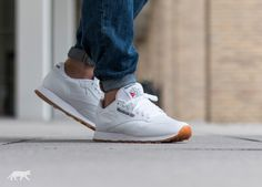 Reebok Classic Leather (White / Gum)