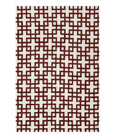 Take a look at this Ivory & Rust Charlotte Rug by Loloi Rugs on #zulily today! $38-280 !!