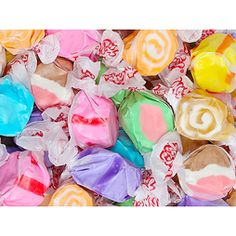 Salt Water Taffy - Assorted Flavors: 5LB Bag