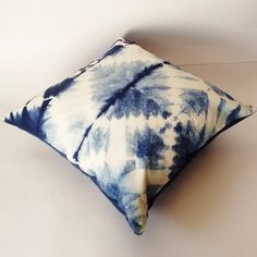 Abstract Decorative Pillow Cases Indian Tie Dyed Indigo Blue Cushion Covers Interior Home Sofa Cushion Christmas Gifts Shibori Gypsy Pillows Decorative Pillow Cases, Decorative Cushions, Blue Cushions, Cushions On Sofa, Blue Cushion Covers, Pillow Covers, Boho Pillows, Throw Pillows, Indigo Dye