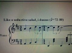 Don't you just love music analogies?