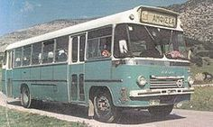 Saracakis SB85 (1966) inter-city bus version (6-cyl. Volvo engine)
