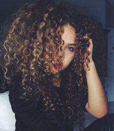 ☺⁜ Pinterest: dopethemesz ; gorgeous natural curly hair ⁜☺