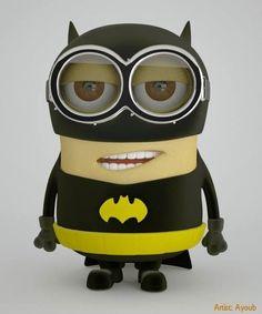 Minion: Batman, The Justice League of America Batman Minion, Cute Minions, Funny Minion Memes, I Am Batman, Minions Despicable Me, Batman Vs Superman, Minions Quotes, Minion Stuff, Minions 2014