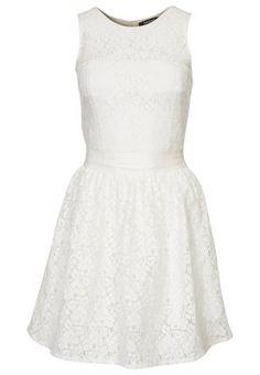 Robe d'été - blanc