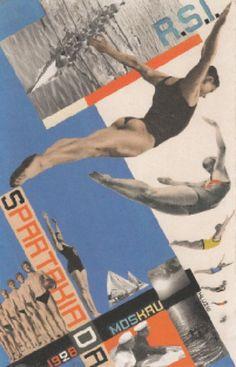 Gustav Klucis - Postal #5, 1928