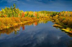 """""""*Namekagon River - northwestern Wisconsin*"""" (take #1)  --  [Photographer Susanne von Schroeder - September 27 2010]'h4d'121017"""