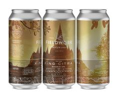 Award-Winning Packaging: Fieldwork Brewing Cans - Print Magazine
