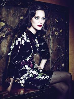 Marion Cotillard by Craig McDean for Interview March 2014