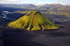 Maelifell volcano, Iceland....Iceland is way too cool