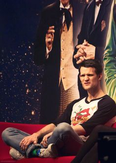 Dear audience member...what on earth did you ask Matt Smith??
