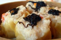 Shanghai Sticky Rice Siu Mai | Delicious steamed dumplings that's become one of the most popular dim sum dishes. #shanghai #stickyrice #siumai #shumai #rice #recipe #dimsum