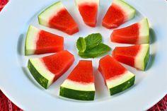 J is for: Jello Shots {Watermelon Mint}