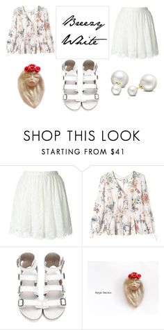 """""""Breezy white"""" by abigailsmycken on Polyvore featuring IRO, Rebecca Taylor, Allurez, white and comfy"""