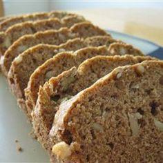 Pear Bread I - Dessert Bread Recipes Persimmon Bread, Pear Bread, Fruit Bread, Banana Nut Bread, Dessert Bread, Mango Bread, Rhubarb Bread, Pear Recipes, Fall Recipes