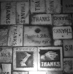 St. Louis No. 1, Floor, St.Roch's Shrine 1996. New Orleans Cemeteries