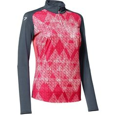 79,99 Odziez do biegania damska Bieganie, Trail - Bluza ELIOFEEL szaro-różowa KALENJI - Odzież do biegania