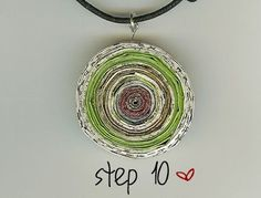 Recycled magazine jewelry #giftsformothers