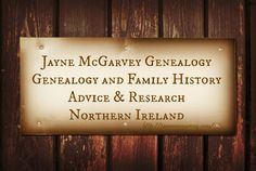 Maybe you are considering exploring your Northern Irish roots for the first time, or want to investigate further but don't have the time or location to search a particular set of Records, Will or Graveyard. Each family has its own story just waiting to be uncovered, and it's a real privilege to help someone find out about their past. If you are ready to embark on your voyage of discovery then contact me today, and take your first step towards knowing your ancestors #genealogy #Irish…