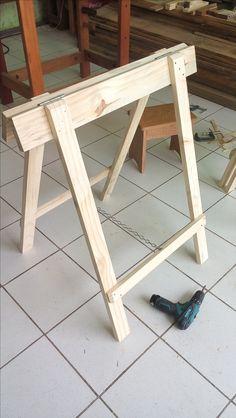 arbeitsb cke klappb cke holzb cke klappbar bauanleitung projekte pinterest holz. Black Bedroom Furniture Sets. Home Design Ideas