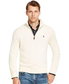 Polo Ralph Lauren Half-Zip Mockneck Sweater