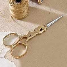 Rabbit Embroidery Scissors in Late Autumn 2012 from Uno Alla Volta on shop.CatalogSpree.com, my personal digital mall.
