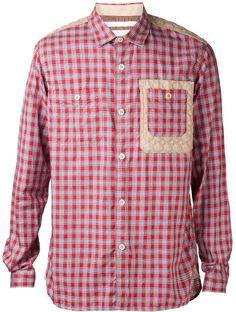 White Mountaineering Red Plaid Pattern Shirt for men Mountaineering, Plaid Pattern, Red Plaid, Photo Sessions, Stuff To Buy, Shirts, Men, Clothes, Tops